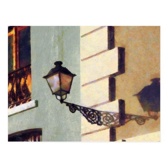Postal Lámpara de calle de San Juan