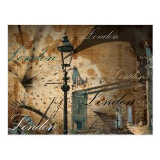 Postal Lamppost del puente de la torre de Reino Unido