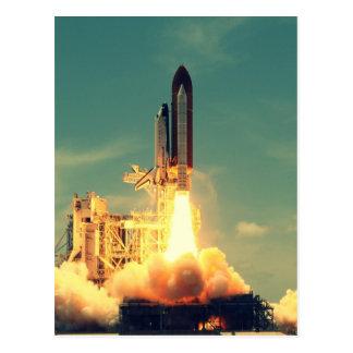 Postal Lanzamiento de Rocket