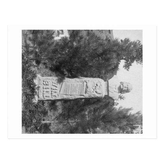 Postal Lápida mortuoria de Photograp grave de Bill