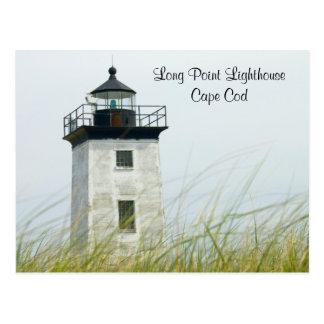 Postal larga de Provincetown Cape Cod de la luz