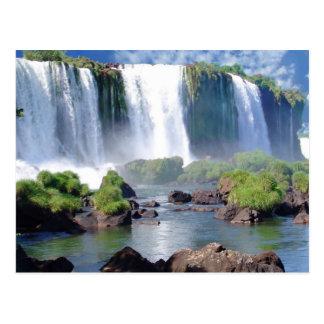 Postal Las cataratas del Iguazú