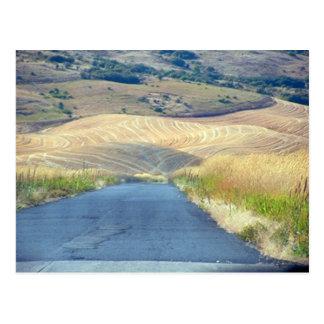 Postal Las colinas de la mota de Steptoe