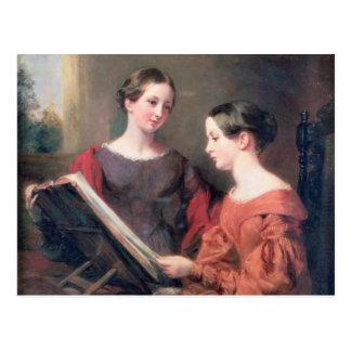 Postal Las hermanas, 1839