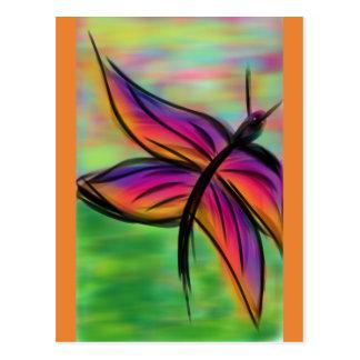 Postal Las mariposas R liberan la mosca 2
