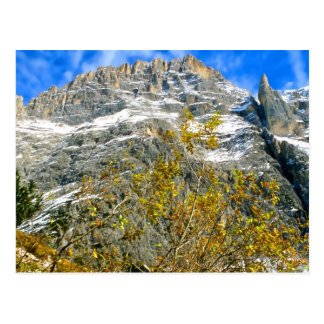 Postal Las montañas italianas 2