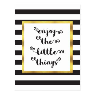 Postal Las pequeñas cosas
