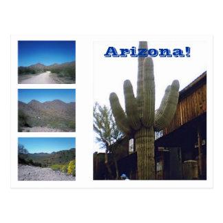 Postal ¡Las vistas de Arizona!