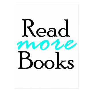 Postal Lea más libros