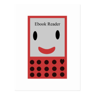 Postal Lector feliz 2 de Ebook