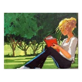 Postal Lectura del parque