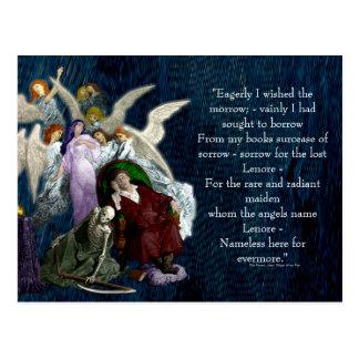 Postal Lenore entre los ángeles