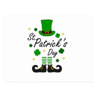 Postal Leprechaun del St Patricks