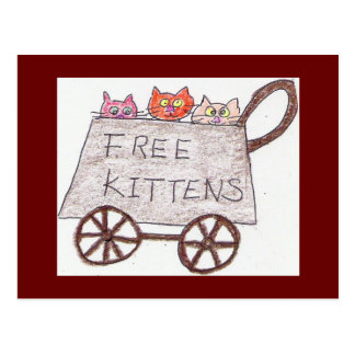 postal libre de los gatitos