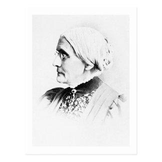 Postal Líder de Susan B. Woman Suffrage del ~ de Anthony