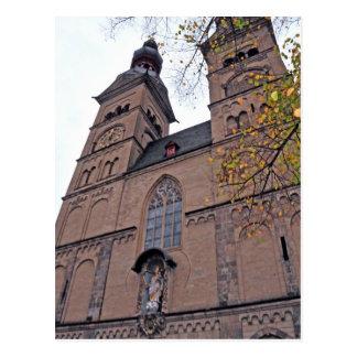 Postal Liebfrauenkirche Coblenza, Deutschland