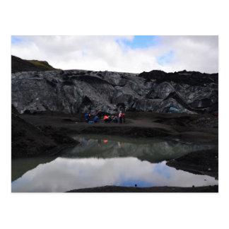 Postal Límite del glaciar, Islandia del sur