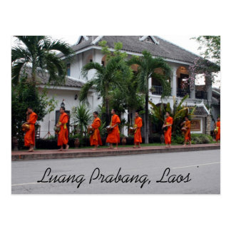 Postal limosnas del luang