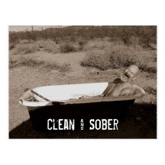 Postal Limpio y sobrio