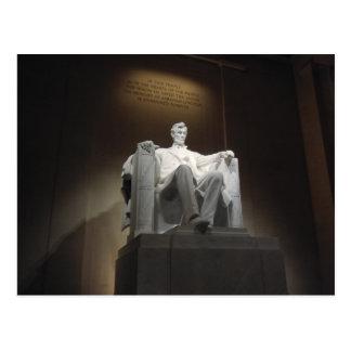 Postal Lincoln MemorialPostcard