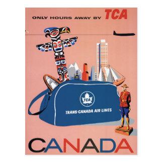 Postal Líneas de aire de Transporte-Canadá