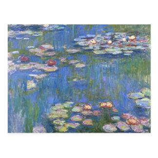 Postal Lirios de agua de Claude Monet //