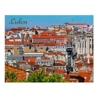 Postal Lisboa, Portugal