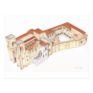 Postal Lisboa Portugal. Catedral