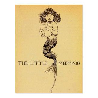 Postal Little mermaid