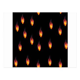 Postal Llamas del fuego