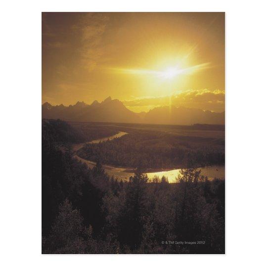 Postal Llano del río Snake, Wyoming