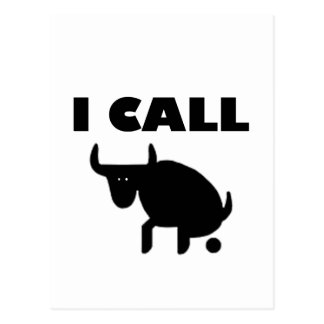 Postal lo llamo fuerza del toro