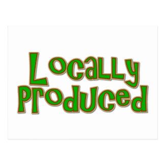 Postal Localmente producido