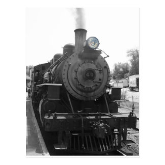 Postal locomotora de vapor #40