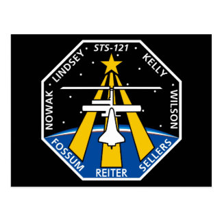 Postal Logotipo de YOUR_NAME_HERE STS-121