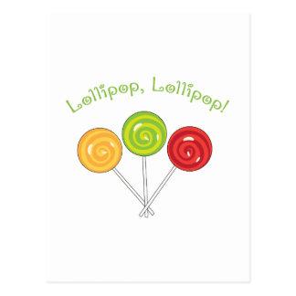Postal Lollipop del Lollipop