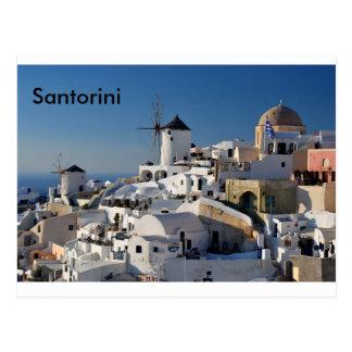 Postal Lona de Santorini