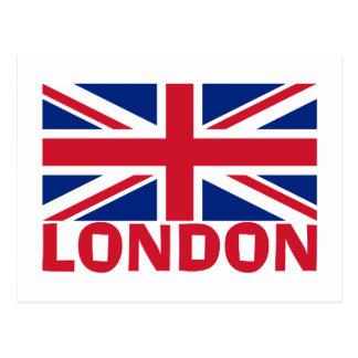 Postal Londres en rojo