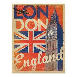Postal Londres, Inglaterra - bandera