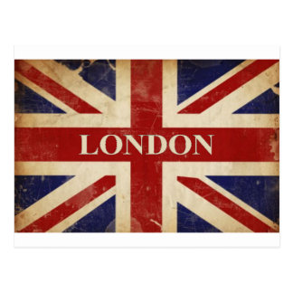 Postal Londres - Union Jack - amor Londres de I