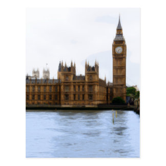 Postal Londres - Westminster abstractos