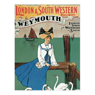 Postal Londres y ~ al sudoeste Weymouth
