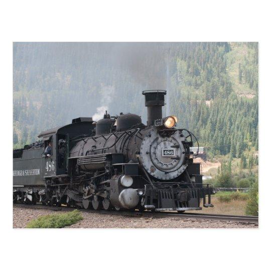 Postal Los 486 Silverton que se va, Colorado