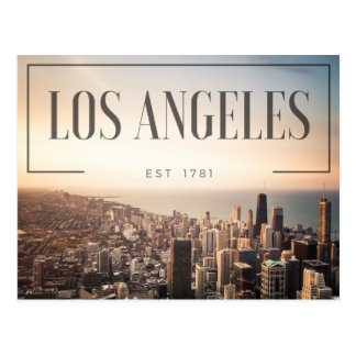 Postal Los Ángeles - Est 1781