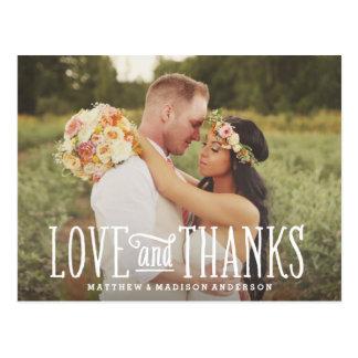 Postal Los apenas | casados que se casan le agradecen