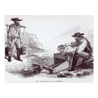 Postal Los buscadores de oro australianos