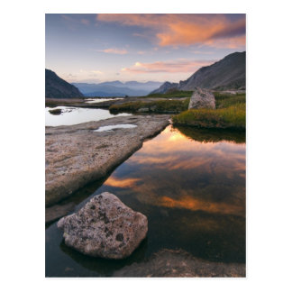 Postal Los E.E.U.U., Colorado, montaña rocosa NP.  Salida