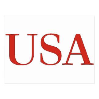 Postal Los E.E.U.U. - Nacional patriótico de los Estados