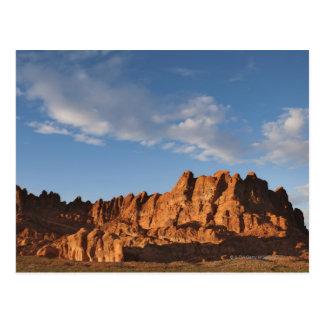 Postal Los E.E.U.U., Nevada, valle del fuego, colinas