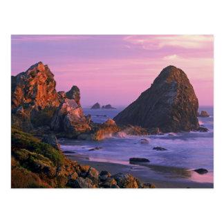 Postal Los E.E.U.U., Oregon, playa de estado de Harris,